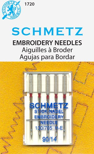 Schmetz Embroidery Needles Art 1720 size 14/90