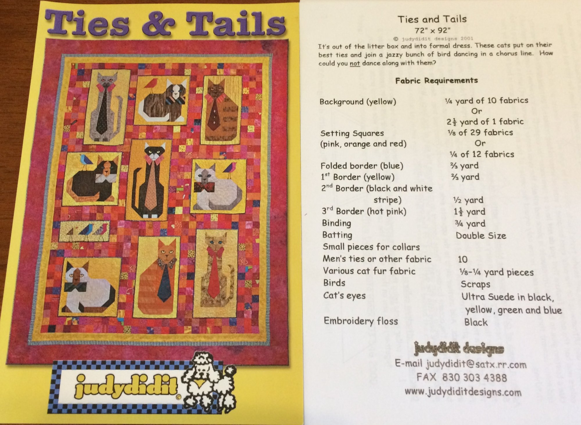 Ties & Tails by Judydidit Designs