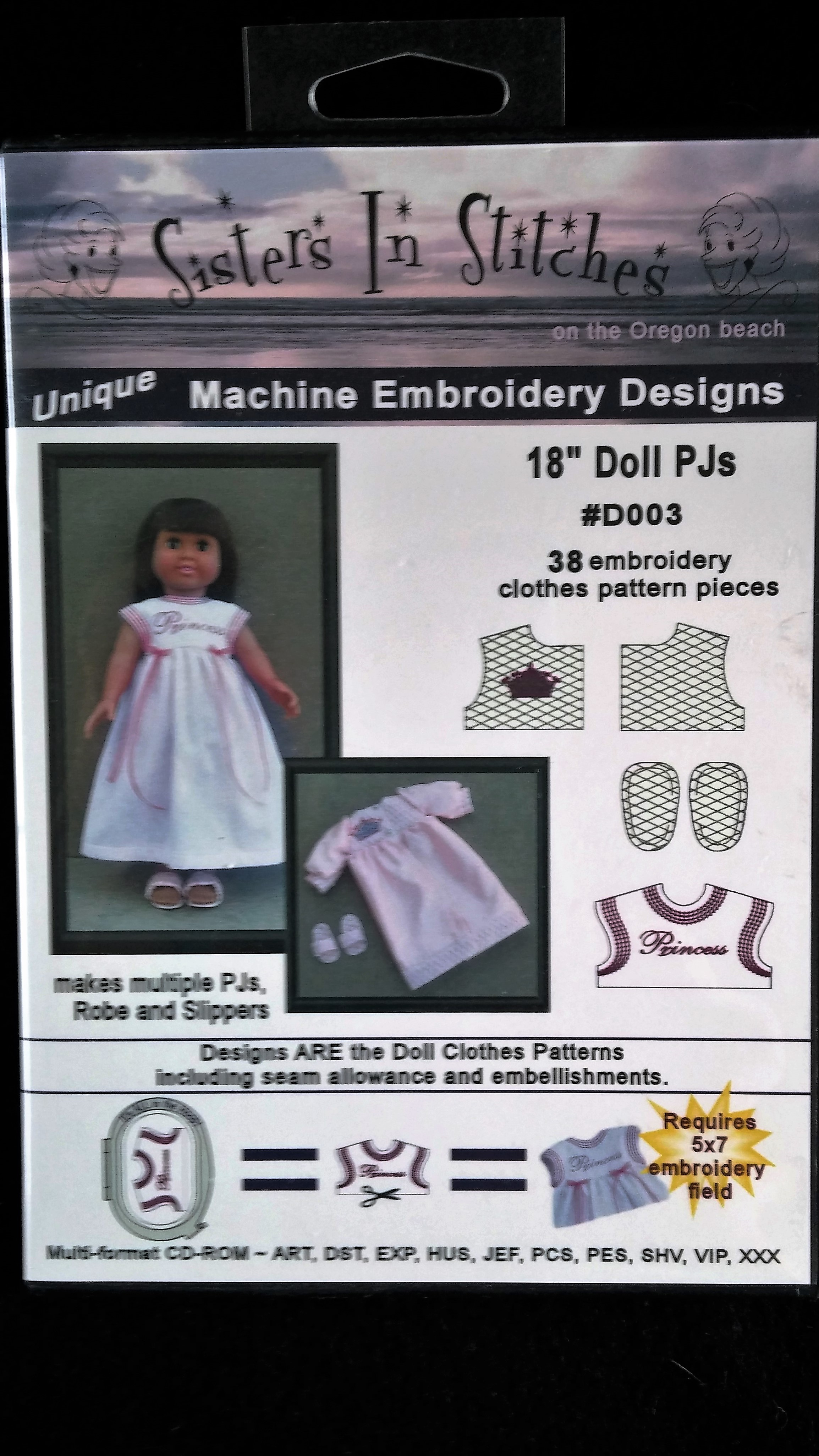 18 Doll PJs and Robe