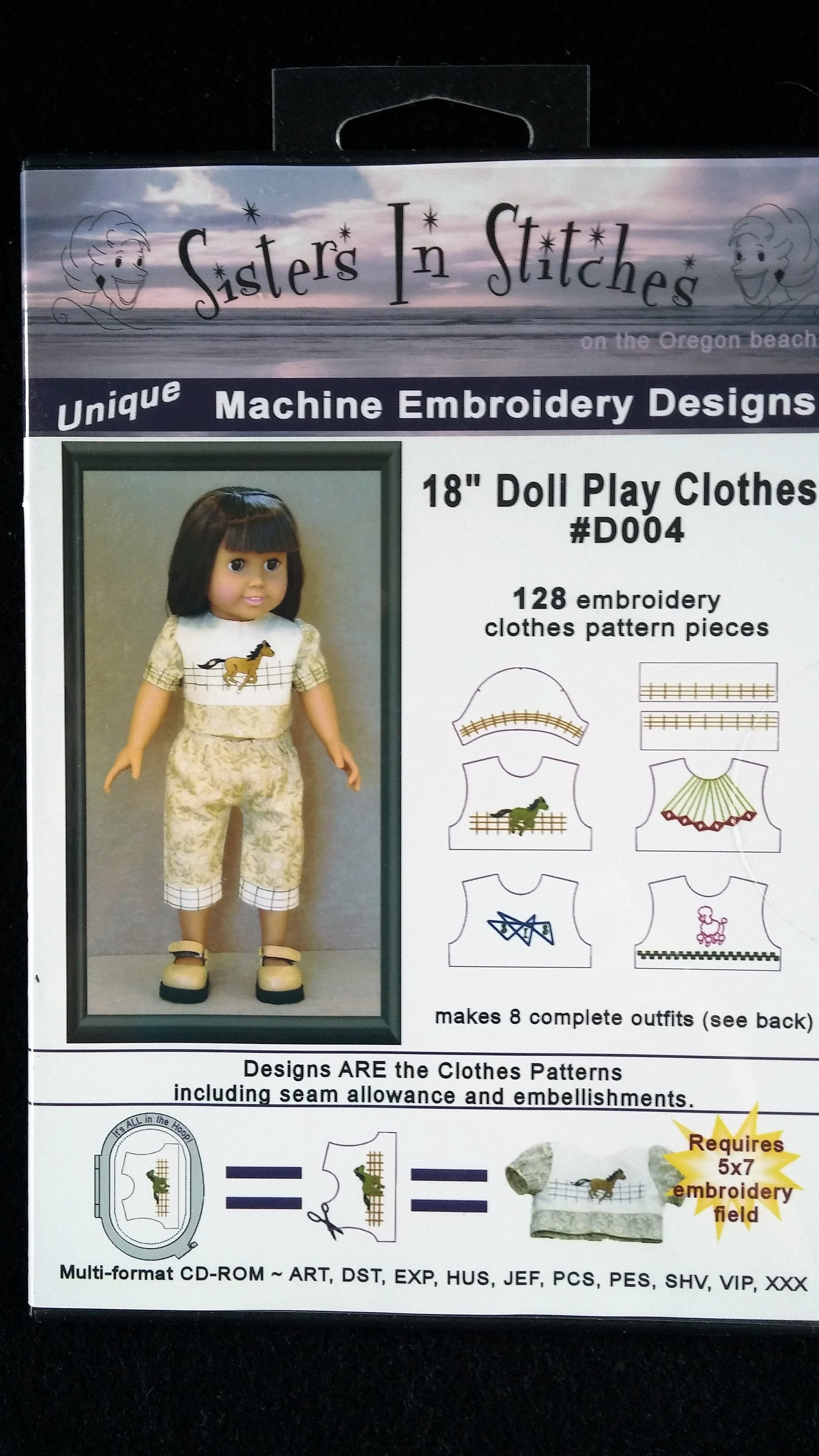 18 Doll Play Clothes