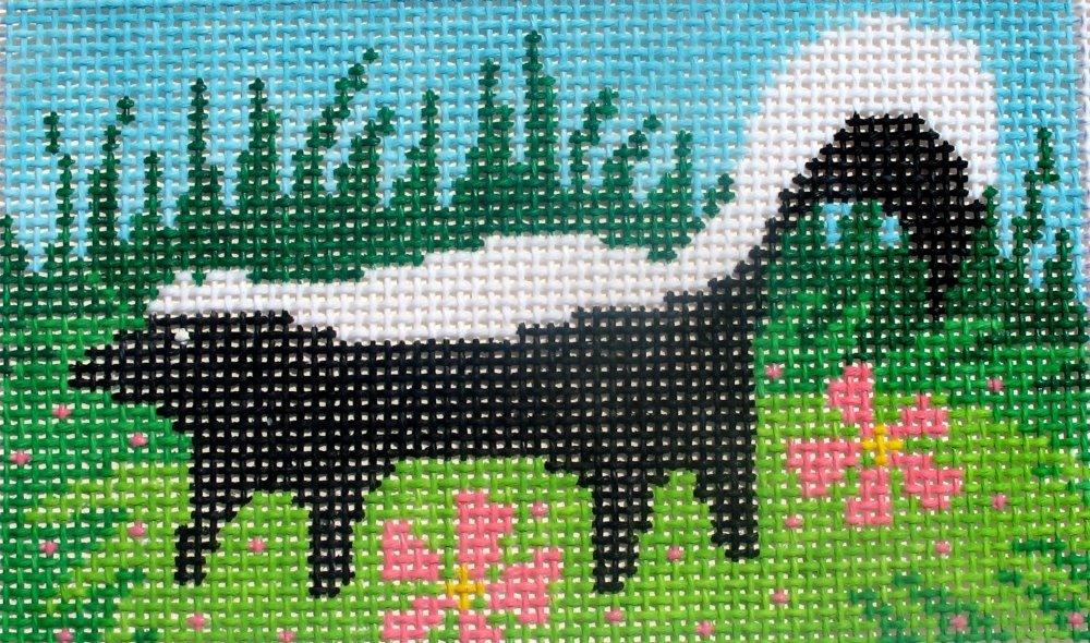 Skunk in Meadow