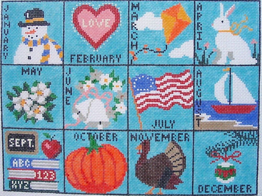 Calendar Pillow