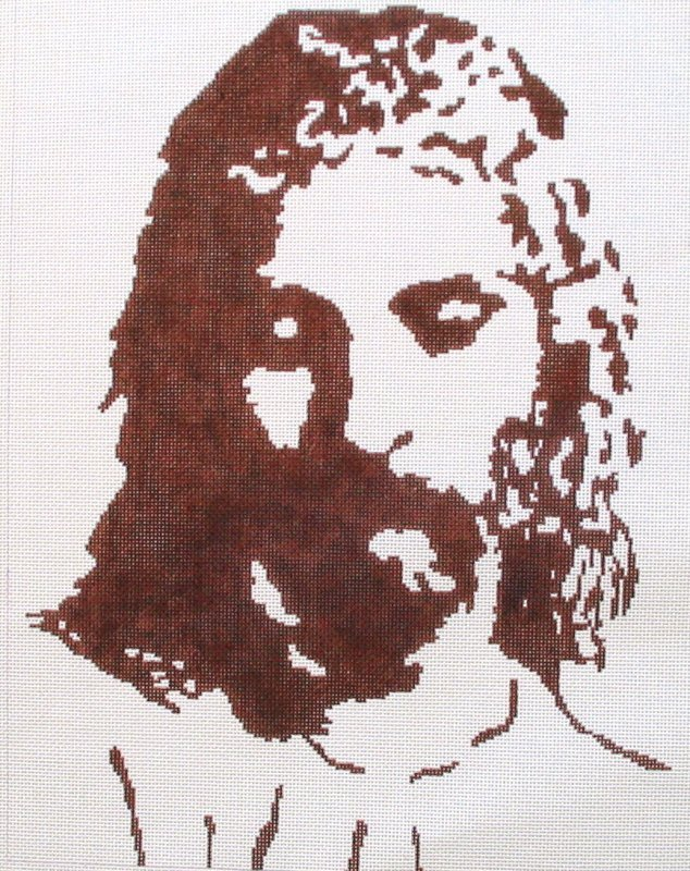 Silhouette of Christ