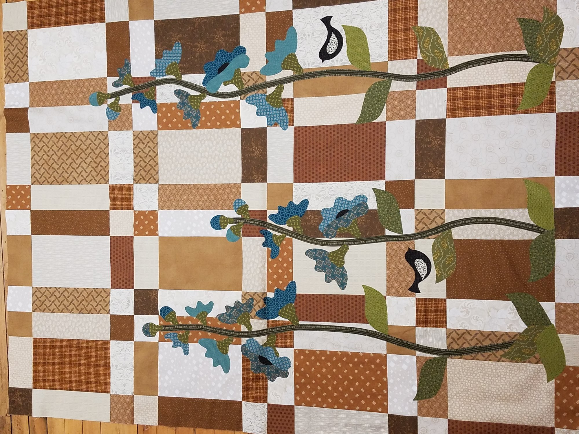 Meadowlark Quilt Top Kit