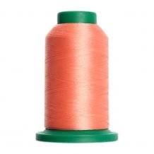 1532 Coral Isacord Embroidery Thread - 1000 Meter Spool