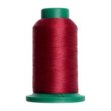 2222 Burgundy Isacord Embroidery Thread - 1000 Meter Spool