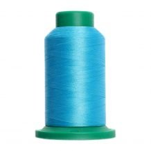 4114 Danish Teal Isacord Embroidery Thread - 1000 Meter Spool