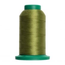 6043 Yellowgreen Isacord Embroidery Thread - 1000 Meter Spool