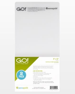 Accuquilt Go! 6x12 Cutting Mat 2Pk