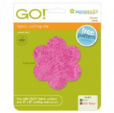 Accuquilt Go! Flower