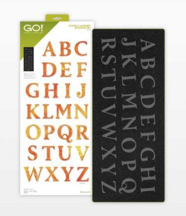 Accuquilt Go! Classic 2 Alphabet Uppercase