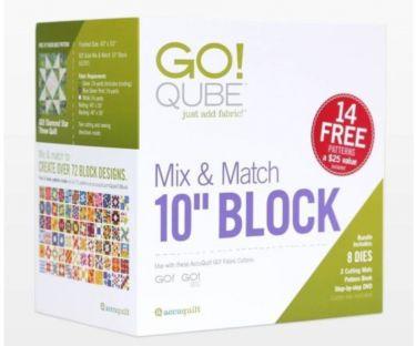 Accuquilt Go! Cube 10 Block Set