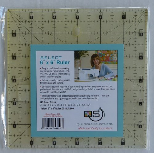 Quilter's Select Ruler 6x6