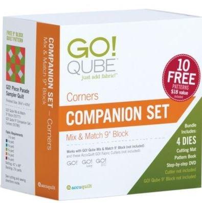 Accuquilt Go! 9 Companion Set Corners