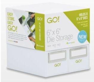 Accuquilt Go! Die Storage 6x6