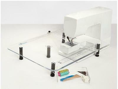 Sew Steady Plexiglass Table 8 Series for Bernina Models 820, 830 (used - excellent condition)