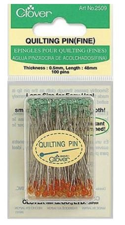 Quilting Pins Fine 100ct