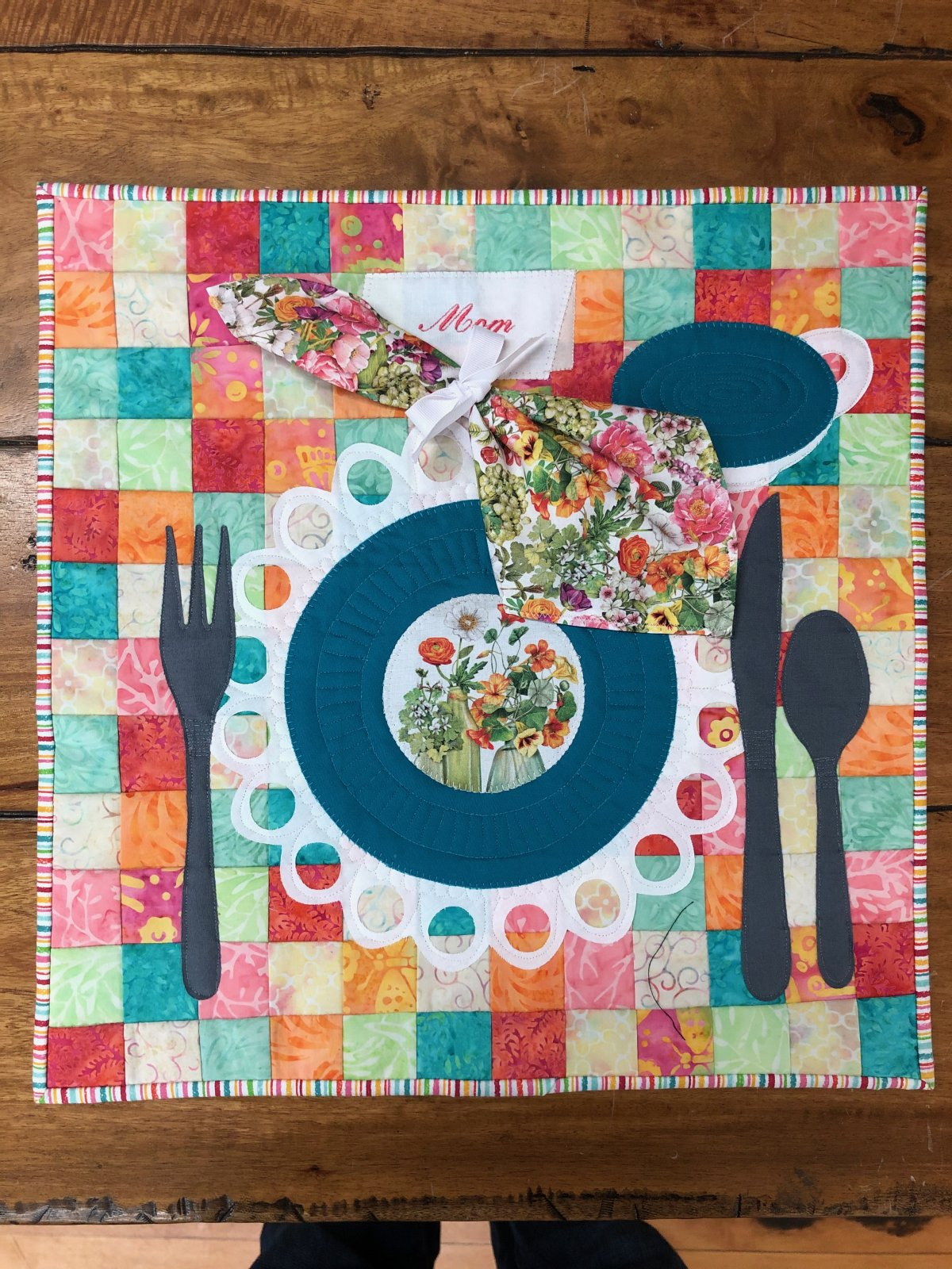 Find Your Place Quilt Kit - Row by Row 2019