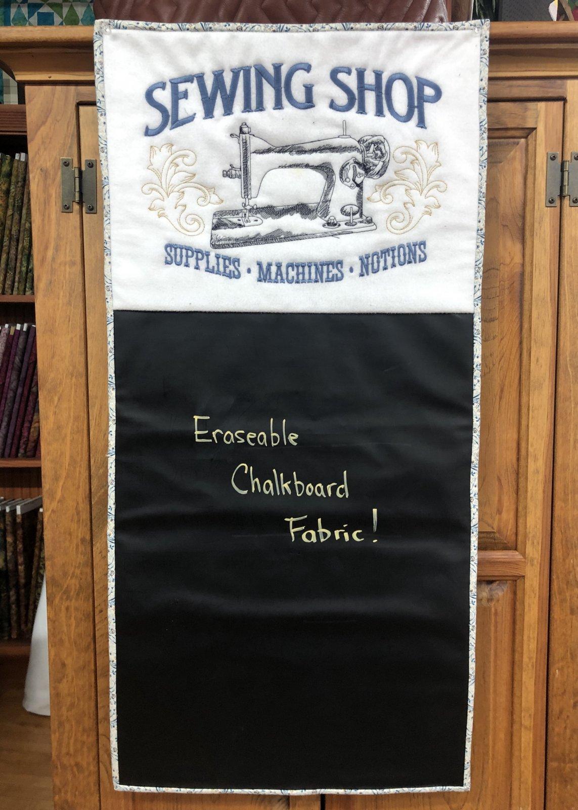 Sewing Shop Chalkboard Kit