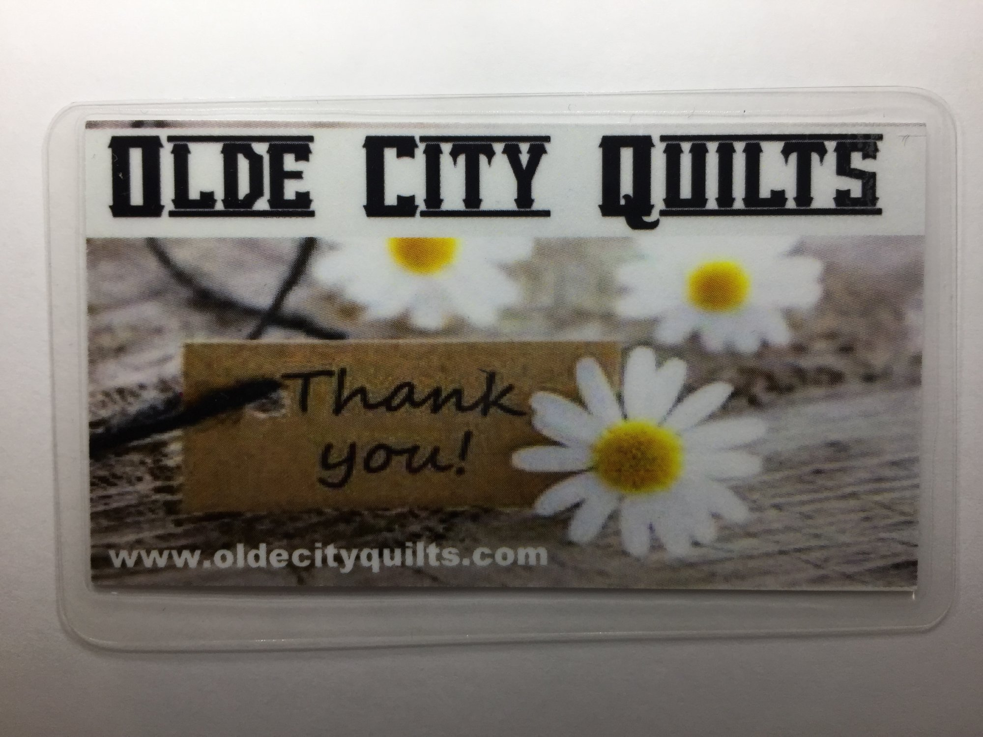 Olde City Quilts Gift Card