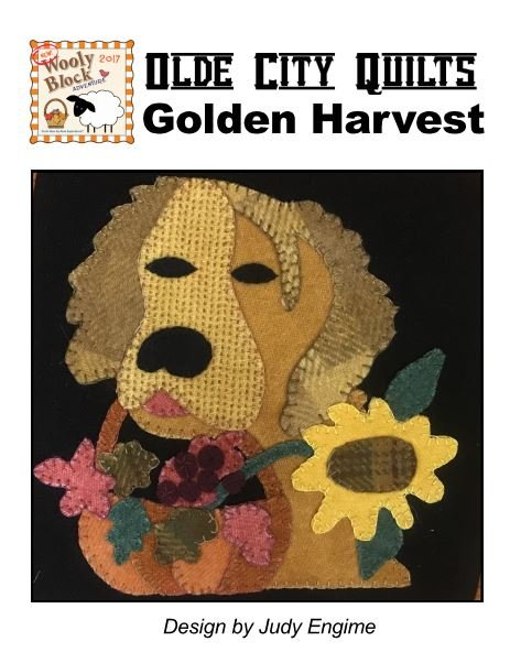 Wooly Block Adventure 2017 PATTERN (Golden Harvest)