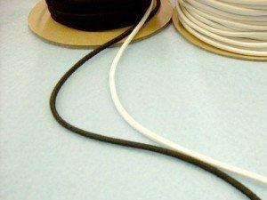 Elastic 1/8 Round Cord