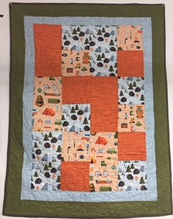 And Baby Takes '3' Baby Quilt Kit