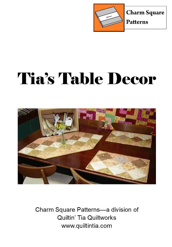 Tia's Table Decor Charm Square Pattern