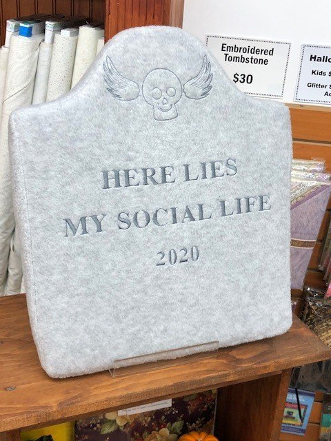 Plush Tombstone - Here's Lie My Social Life - 2020