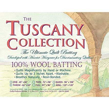 Hobbs Tuscany 100% Wool Crib