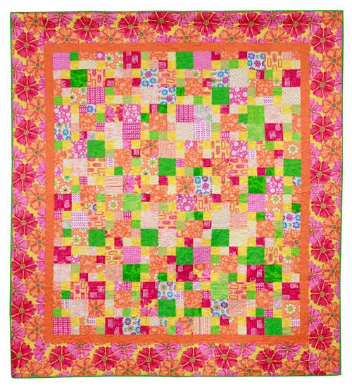 Youth Quilter, 3rd Place: 'Sunrise in La Paz' by Makena Newberry