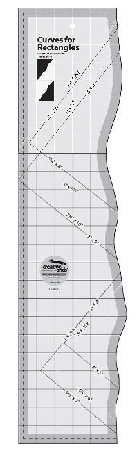 Curves for Rectangles Ruler