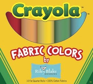 Original Crayola Solids Fat Quarter Box