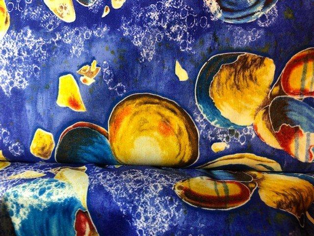 Frond Golden Seashells