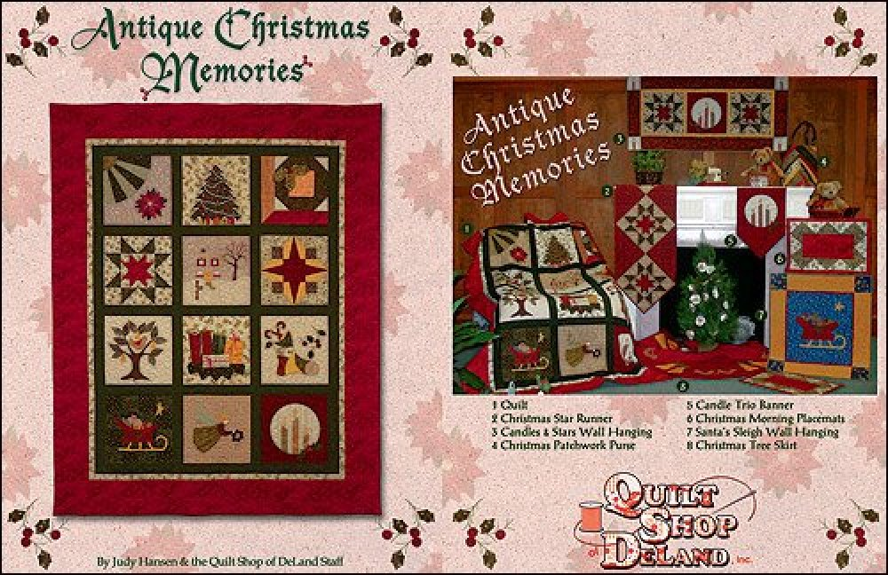 Antique Christmas Memories Book by Judy Hansen