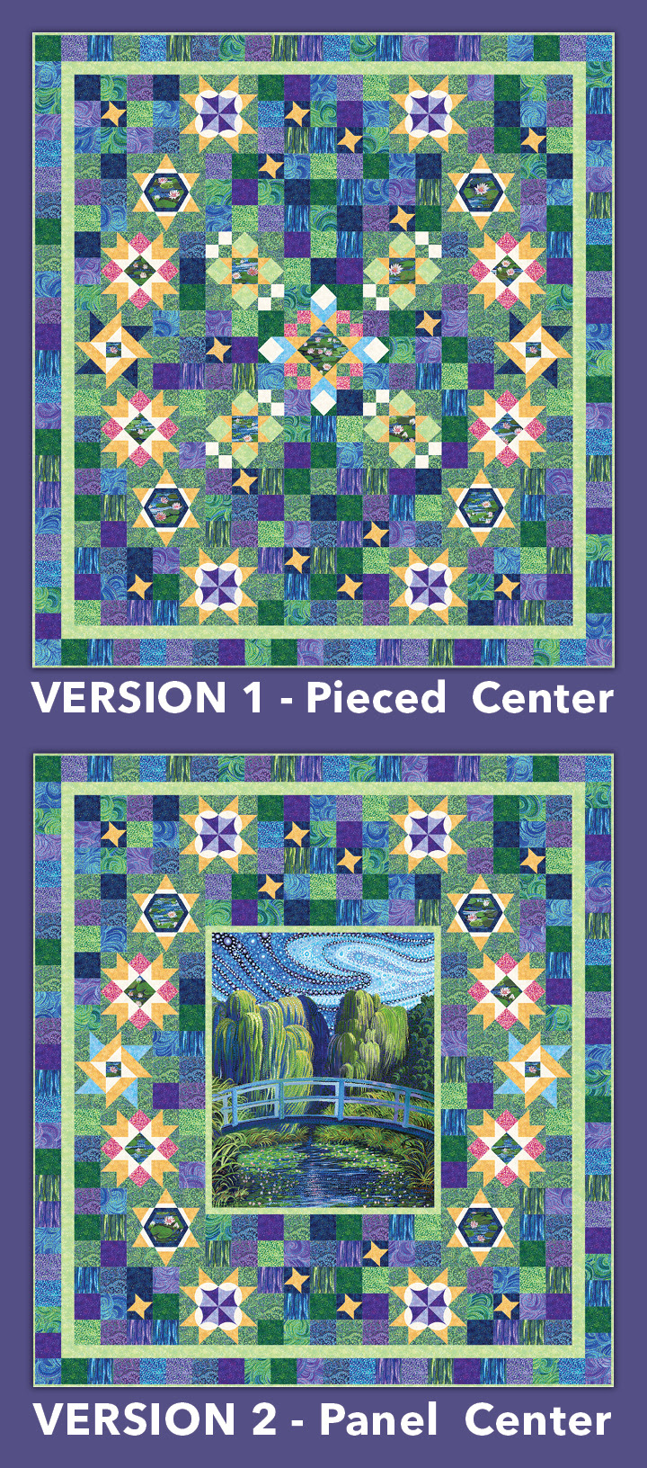 Block of the month complete  pattern
