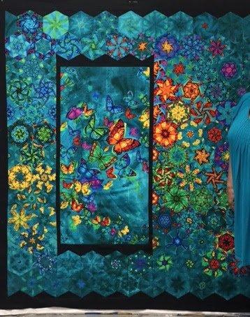 Butterfly Panels one block wonder