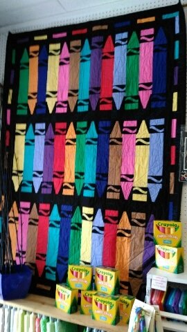 Crayons Quilt Kit