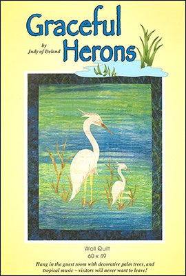 Graceful Herons - Wall Quilt (60x49) Kit