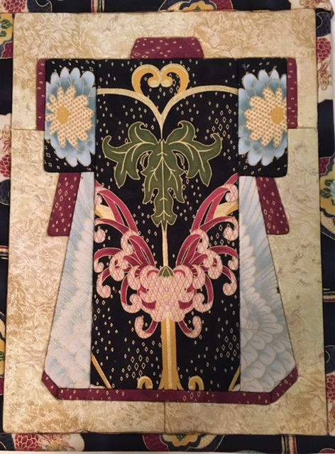 Kimono Art board and fabric kit