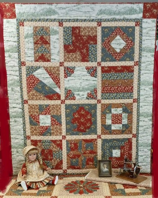 Laura's Patchwork Sampler Quilt pattern