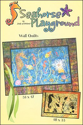 Seahorse Playground - Wall Quilts (34x47 & 48x33)