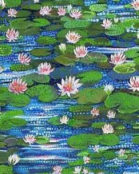 water lily Northcott fabrics 2 yard pre cut