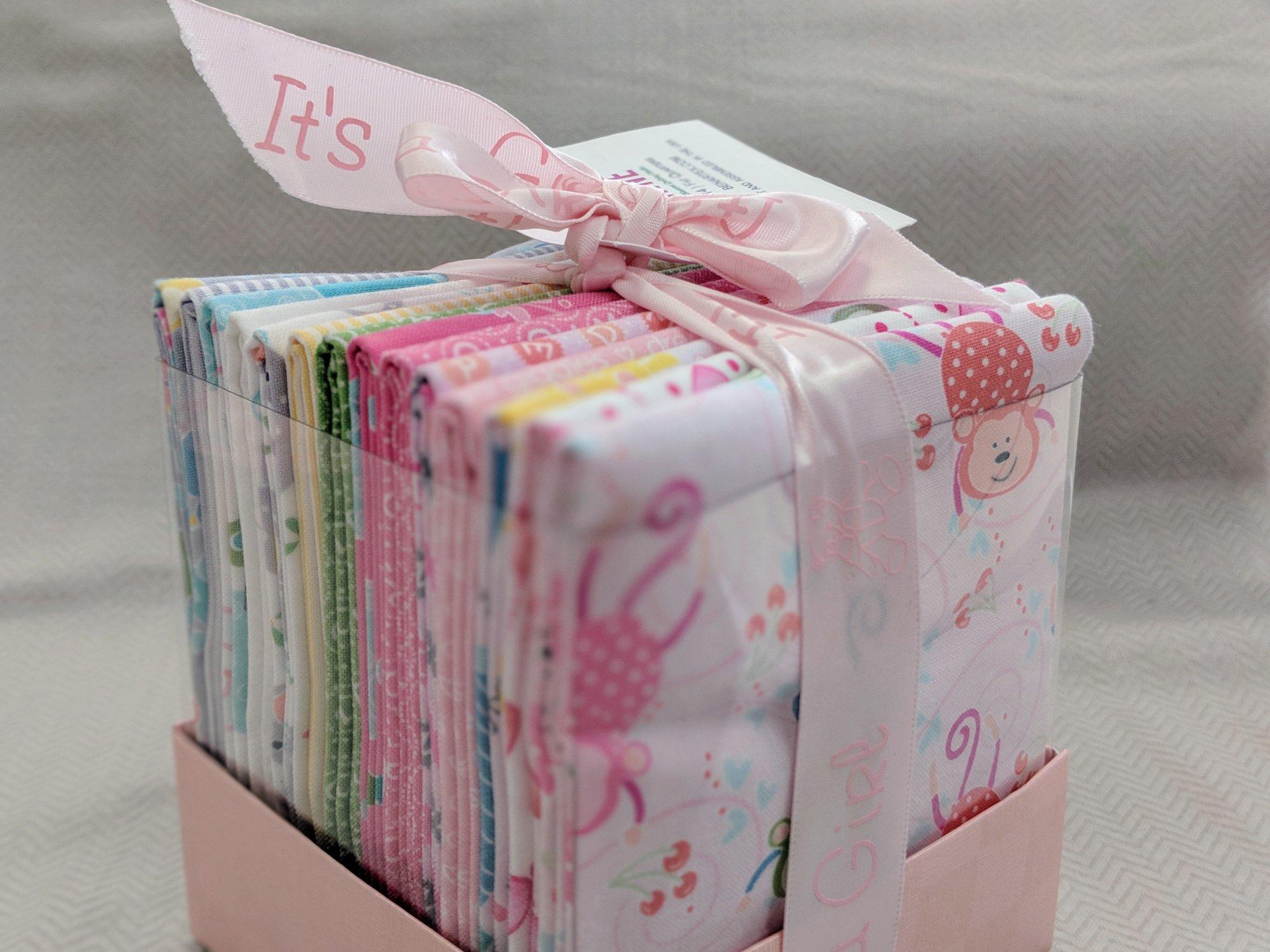 My Little Sunshine Girl FQ Box