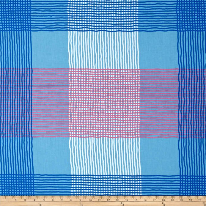 BREEZE PLAID BLUE