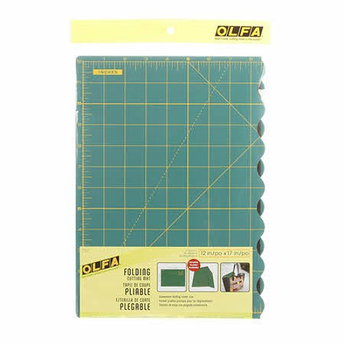 Olfa Folding Cutting Mat 12 X17