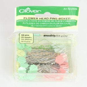 FLOWER HEAD PINS CLOVER