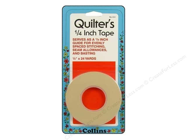 QUILTER'S 1/4 INCH TAPE 24 YD