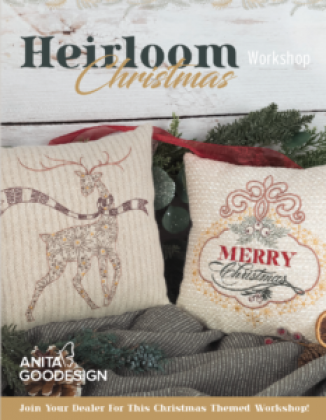 Anita Goodesign Heirloom Christmas