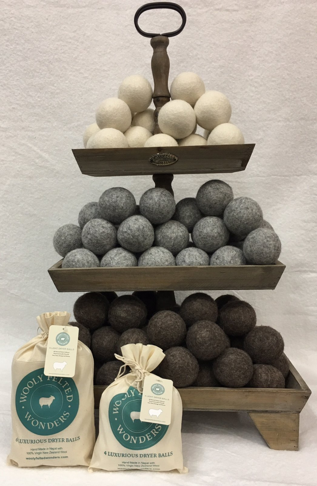 Wooly Felted Wonders dryer balls - 6